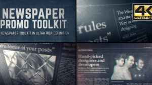Newspaper Promo Toolkit