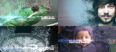 Particle World Slideshow