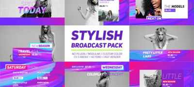 Stylish Broadcast Pack