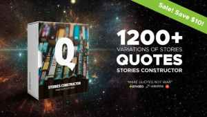 Stories Constructor - Quotes
