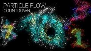 Particle Flow Countdown