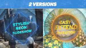 Stylish Neon Slideshow