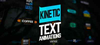 Kinetic Text Animations
