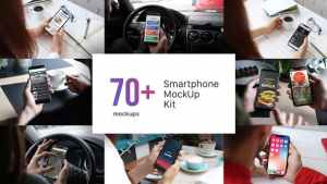 Smartphone Mockup Kit