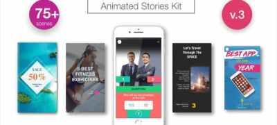 Animated Stories Kit // Instagram, Snapchat, Facebook