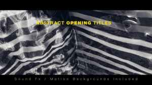 Abstract Opening Titles