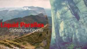 Liquid Parallax - Slideshow Opener