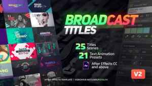 Broadcast Titles