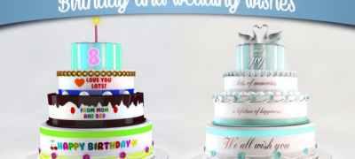 Birthday and Wedding Wishes