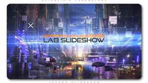 Scientific Laboratory Techno Slideshow