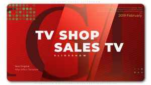 TV Shop Sales Slideshow