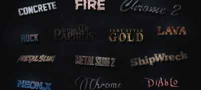 3D Text Styles Cinematic Trailer ToolKit