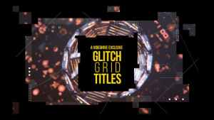 Glitch Grid Titles