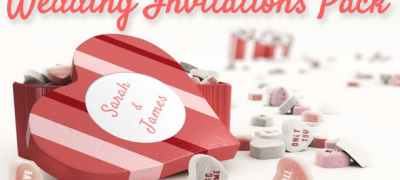 Wedding Invitations Pack