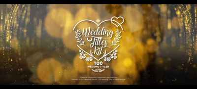 Wedding Titles Kit - 100 Titles