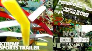 Xtreme Sports Graffiti Trailer