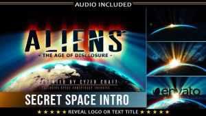 Space Intro | Alien Sci-fi Logo