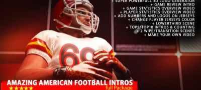 Amazing American Football Intro