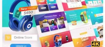 Online Market | Universal Product Promo