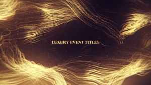 Luxury Event Titles