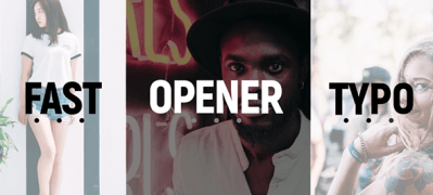 Shot Typo Opener