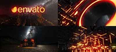 Lightbuild Element 3D Logo Reveal