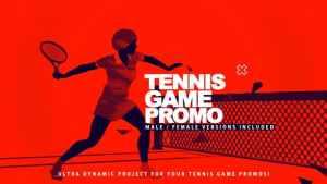 Tennis Game Promo