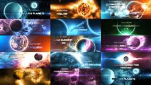 Solar System 2 ( Fantasy Planets ) 8K