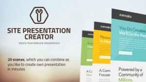 Site Presentation Creator