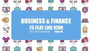 Business And Finance - Flat Animation Icons
