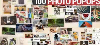 100 Photo Popups
