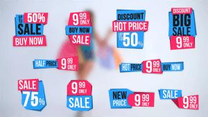 10 Sales Label