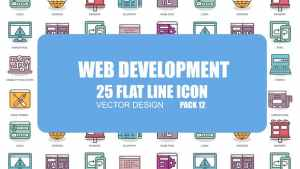 Web Development - Flat Animation Icons