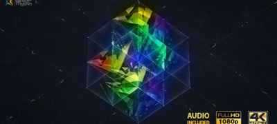 3D Magic Cube Logo Reveal