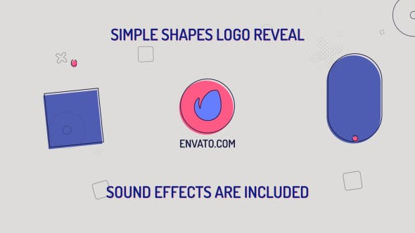 Download Simple Shapes Logo – FREE Videohive