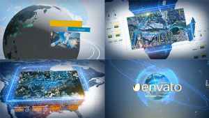 Digital Earth Motion Graphics