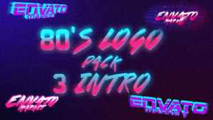 80's Logo Intro Pack 3 in 1