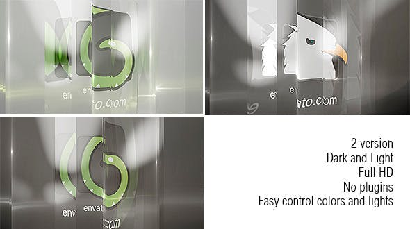 Download Glass Logo – FREE Videohive