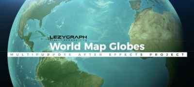 World Map Globes