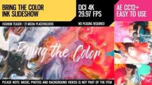 Bring the Color (4K Ink Slideshow)