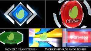 Broadcast Logo Transition Pack V3