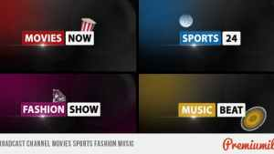 Broadcast Channel Movies Sports Fashion Music