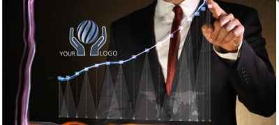 Business Chart - Logo Intro