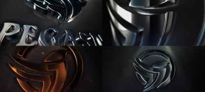 Clean Elegant 3D Logo Reveal