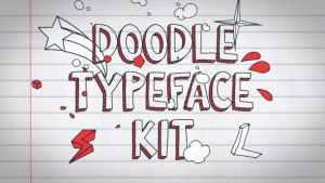 Doodle Typeface Kit