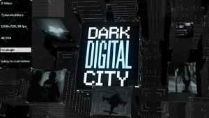 Dark Digital City Titles