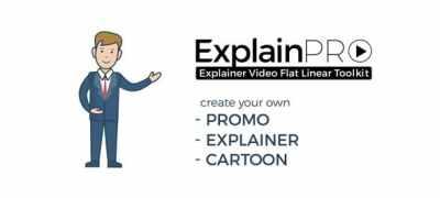 ExplainPRO. Explainer Video Flat Linear Toolkit.