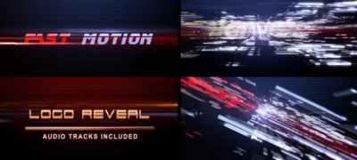 Fast Motion (Logo Reveal)