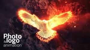 Fire Explosion Logo & Photo Animation