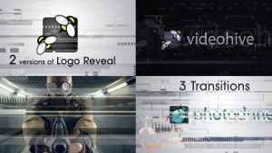 Glitch Logo and Transitions